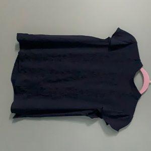 2 shirts cap sleeve and sleeveless